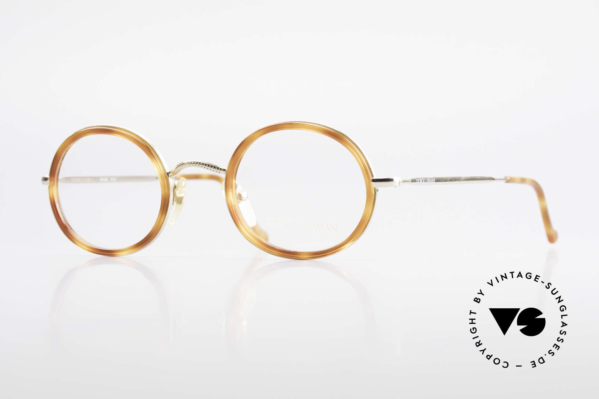 Giorgio Armani 139 Oval Vintage Eyeglasses 90's, vintage designer eyeglass-frame by GIORGIO Armani, Made for Men and Women