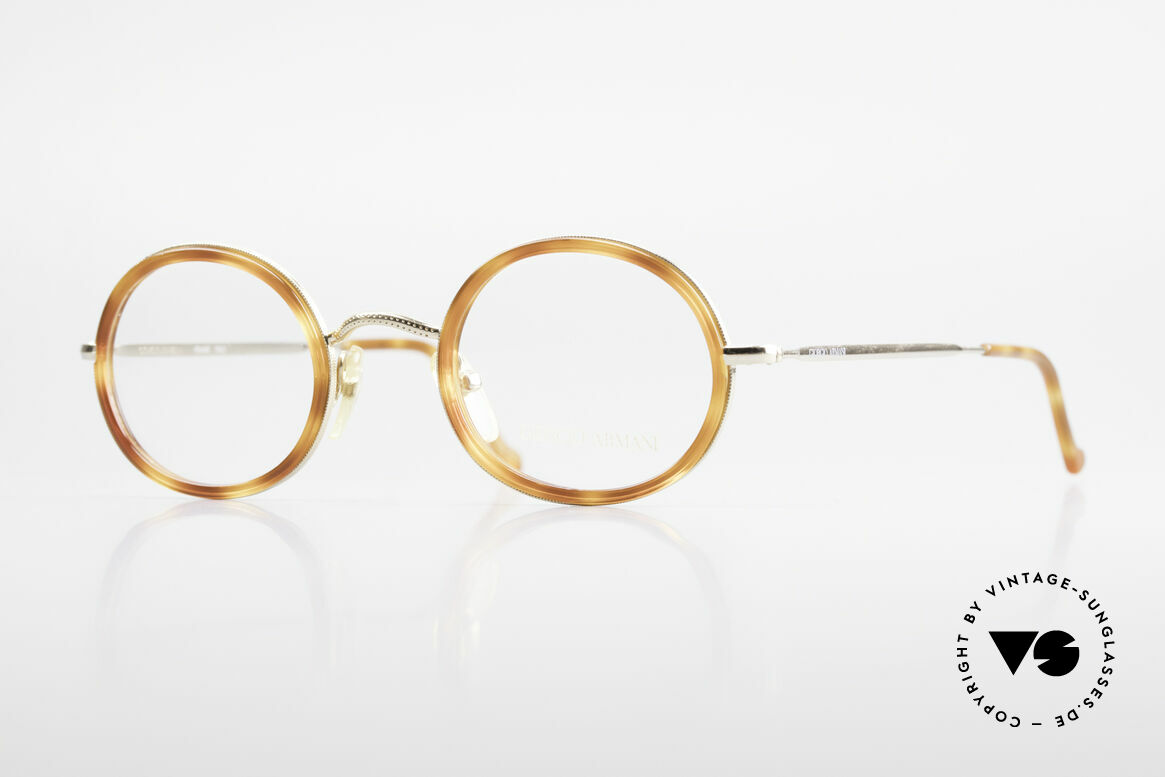 Giorgio Armani 139 Oval Vintage Eyeglasses 90's, vintage designer eyeglass-frame by GIORGIO Armani, Made for Men and Women