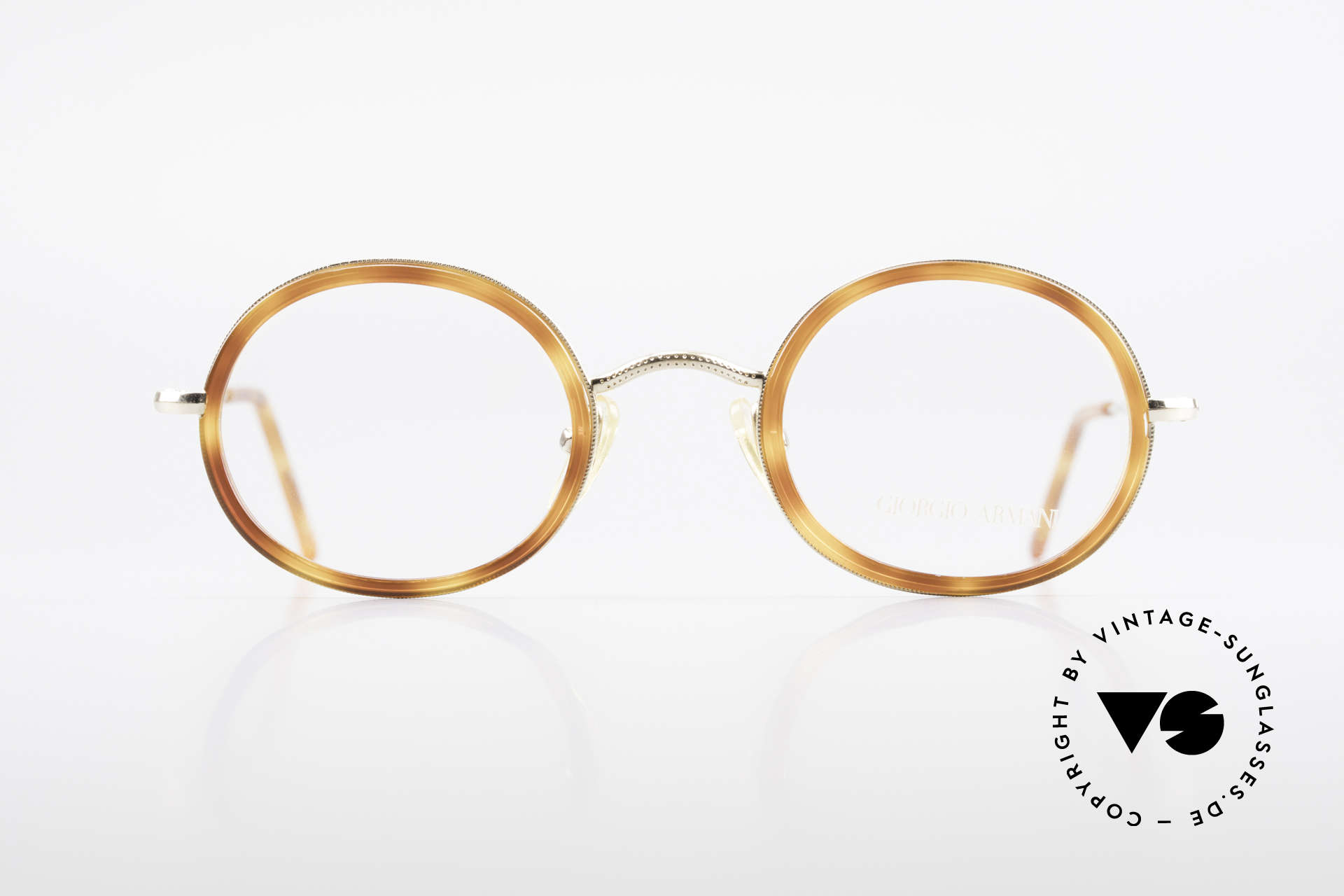 Giorgio Armani 139 Oval Vintage Eyeglasses 90's, a true classic in design & coloring (timeless elegant), Made for Men and Women