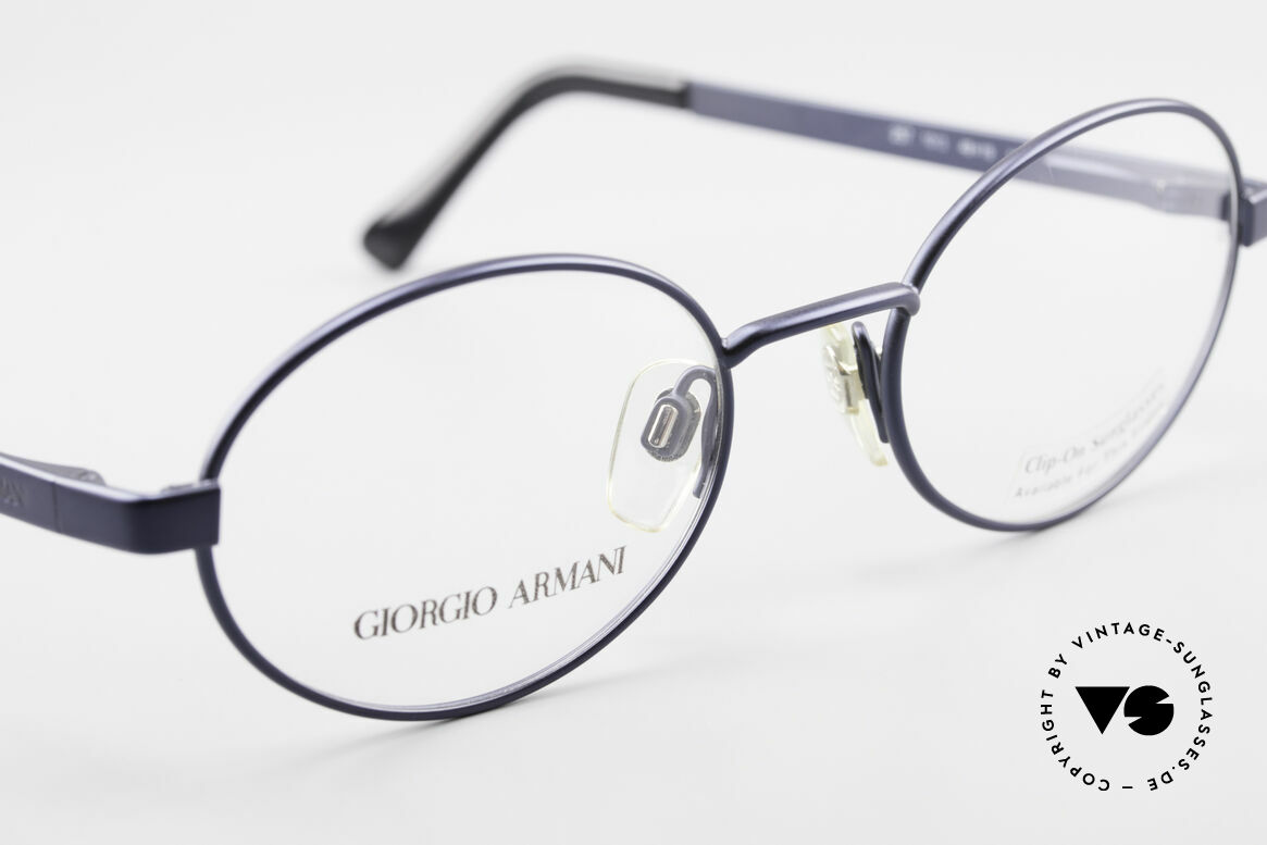 Giorgio Armani 257 90's Oval Vintage Eyeglasses, NO RETRO EYEWEAR, but a 25 years old Original, Made for Men and Women