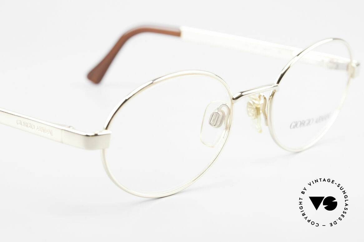 Giorgio Armani 257 Designer Vintage Frame Oval, NO RETRO EYEWEAR, but a 25 years old Original, Made for Men and Women