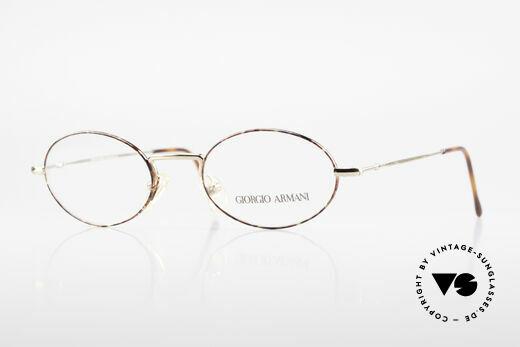 Giorgio Armani 270 Vintage Frame Oval No Retro Details