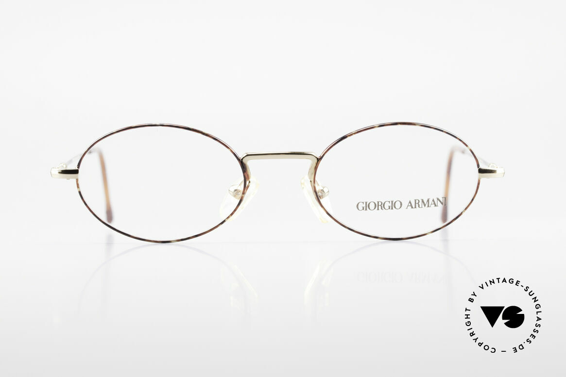 Giorgio Armani 270 Vintage Frame Oval No Retro, a timeless 1990's model in tangible premium quality, Made for Men and Women
