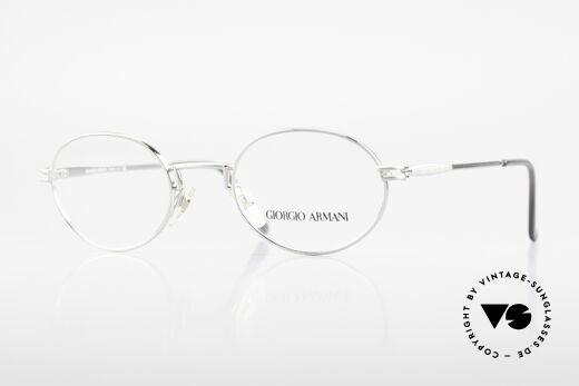 Giorgio Armani 244 Oval Vintage Frame No Retro Details