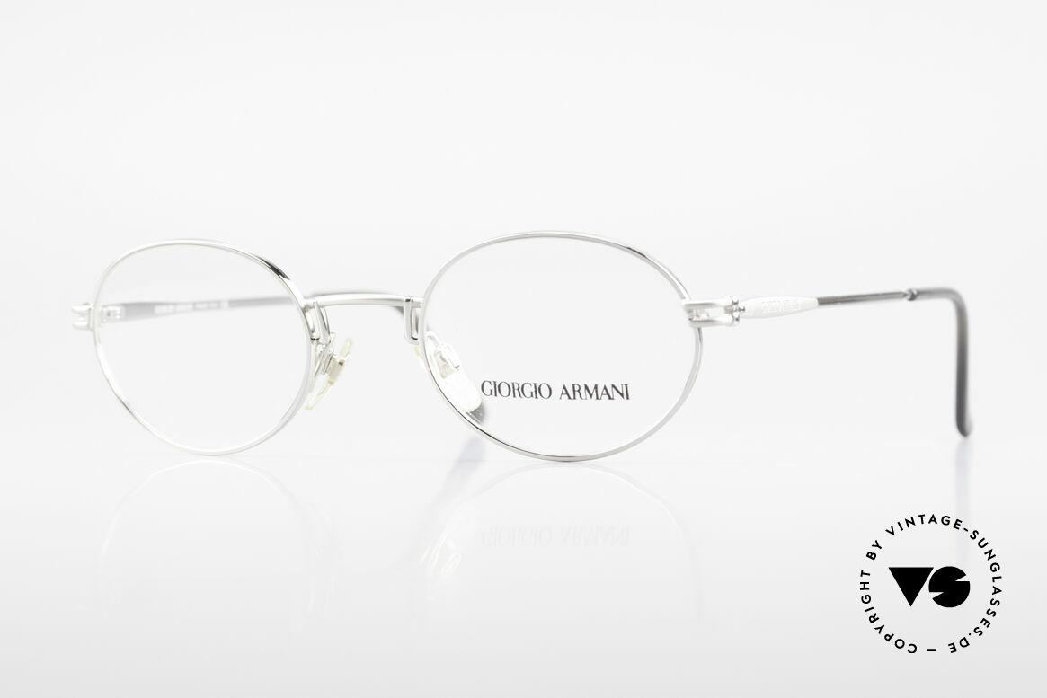 Giorgio Armani 244 Oval Vintage Frame No Retro