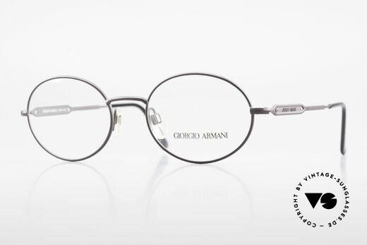 Giorgio Armani 241 No Retro Glasses Oval Vintage Details