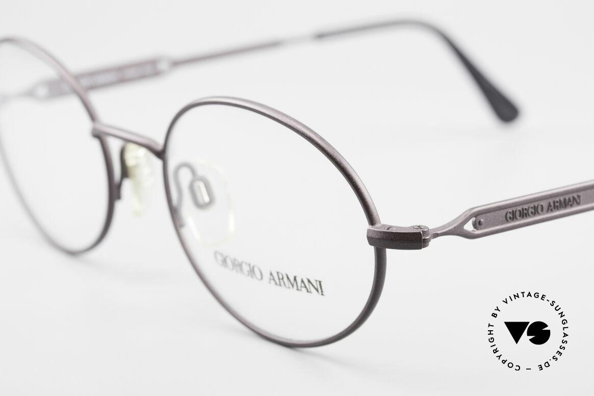 Giorgio Armani 241 No Retro Glasses Oval Vintage, never worn (like all our rare vintage Armani glasses), Made for Men