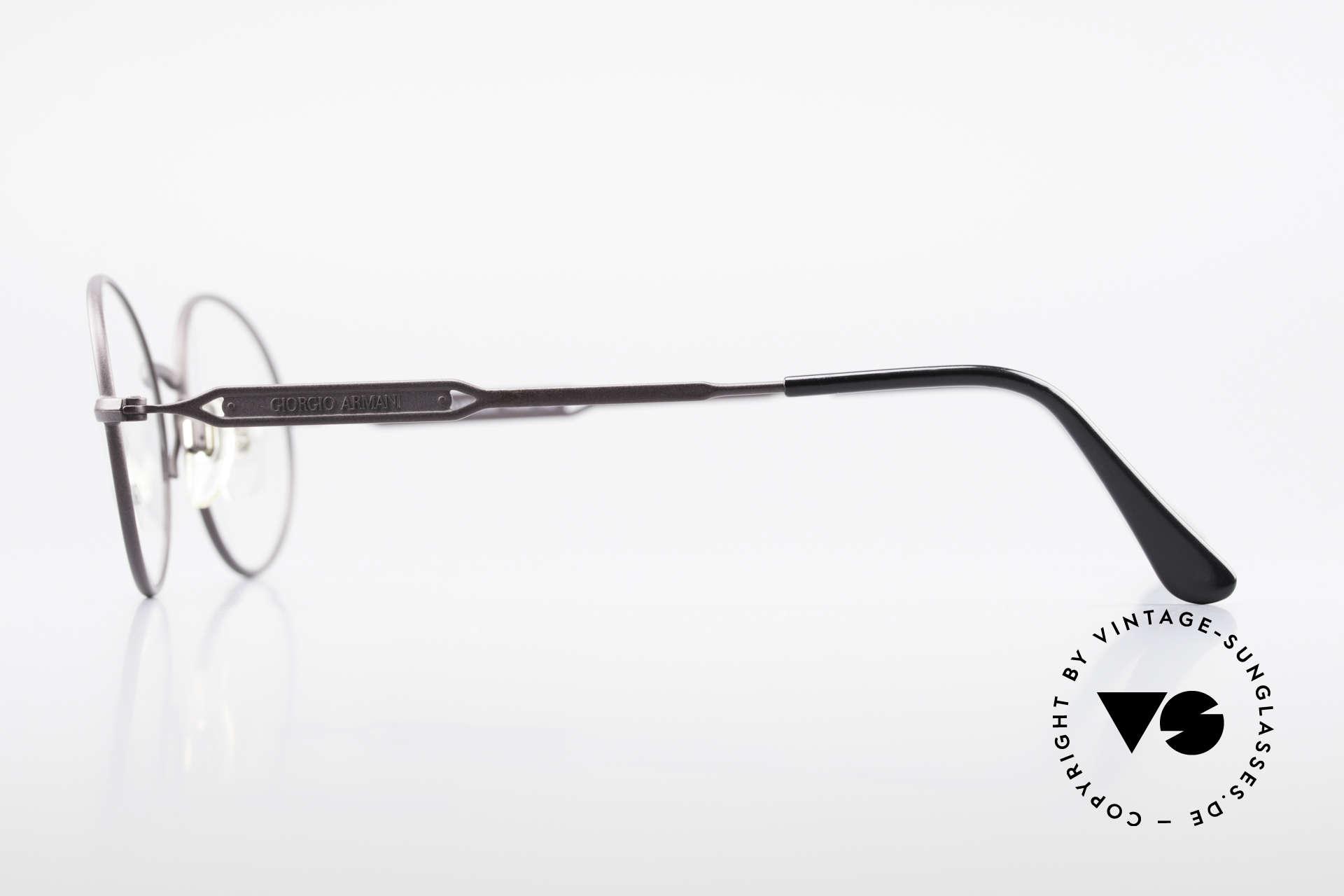 Giorgio Armani 241 No Retro Glasses Oval Vintage, NO RETRO EYEWEAR, but a 25 years old ORIGINAL!, Made for Men