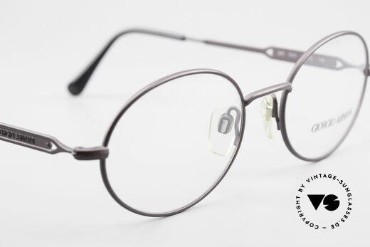 Giorgio Armani 241 No Retro Glasses Oval Vintage, the frame is made for prescription lenses, of course, Made for Men