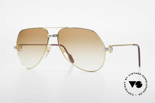 Cartier Vendome Santos - L Customized Diamond Shades Details