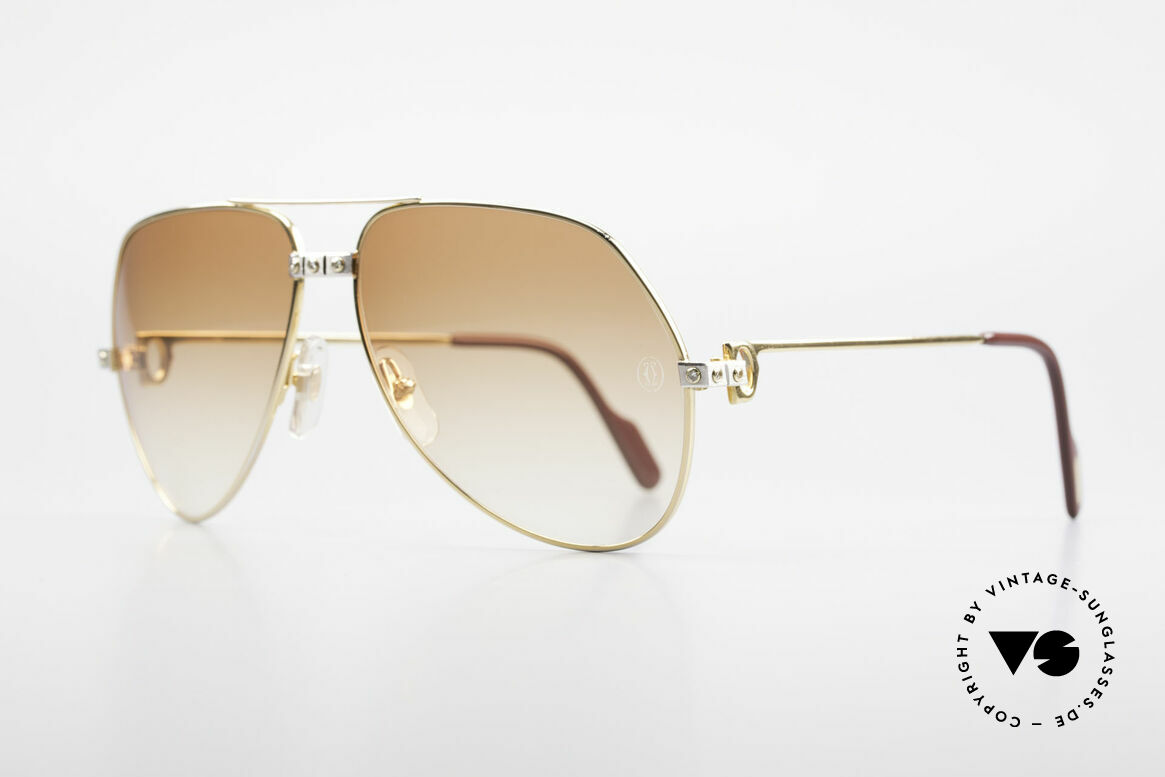 Cartier Vendome Santos - L Customized Diamond Shades