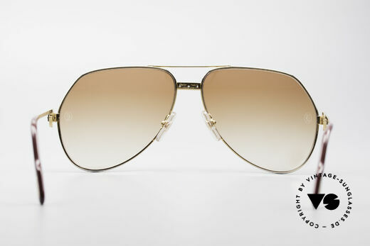 Cartier Vendome Santos - L Customized Diamond Shades, 2nd hand (LARGE size 62) frame, but in a mint condition, Made for Men