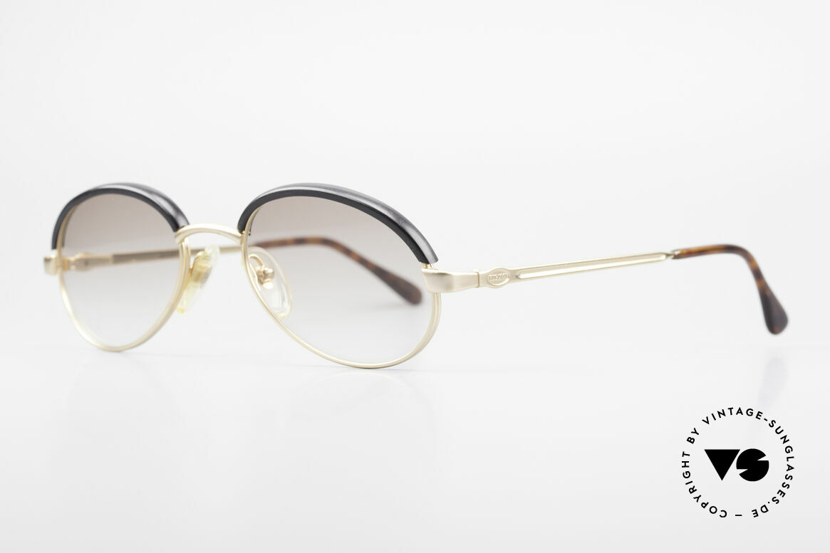 Bugatti 03180 Old Classic Bugatti Sunglasses, 1st class comfort due to flexible spring temples, Made for Men