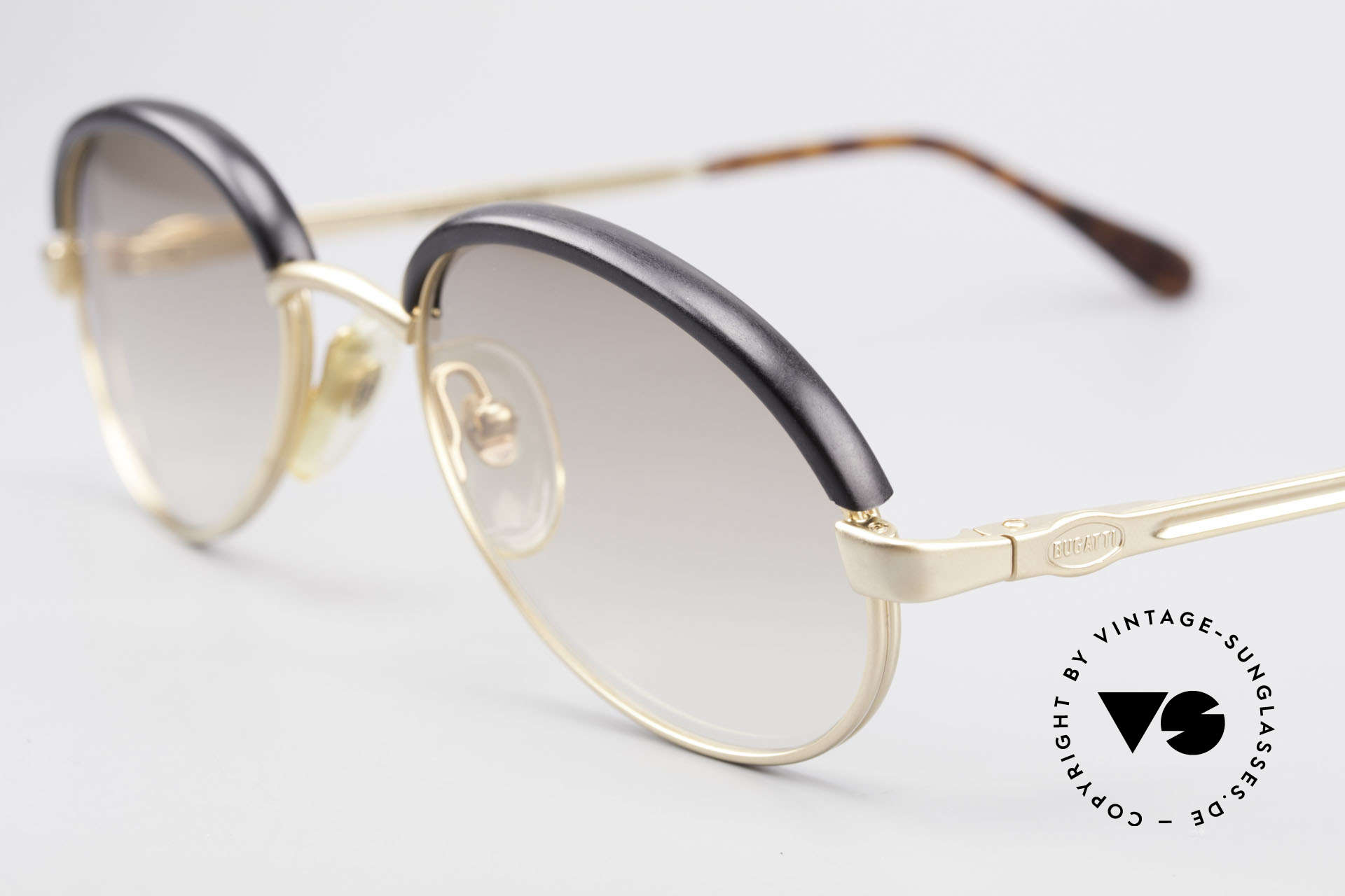 Bugatti 03180 Old Classic Bugatti Sunglasses, unworn (like all our vintage Bugatti sunglasses), Made for Men