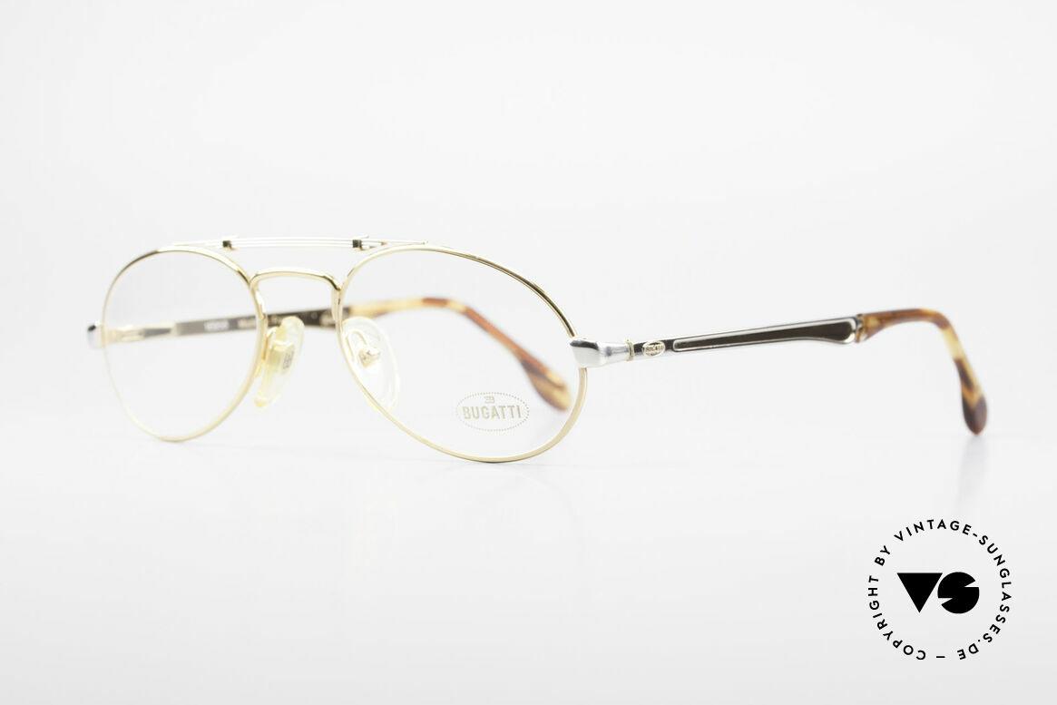 Bugatti 16958 Gold Plated 80's Eyeglasses