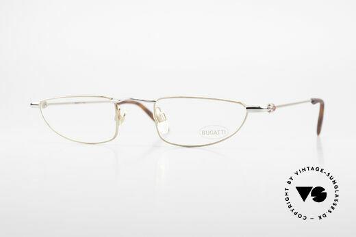 Bugatti 11708 90's Luxury Reading Glasses Details