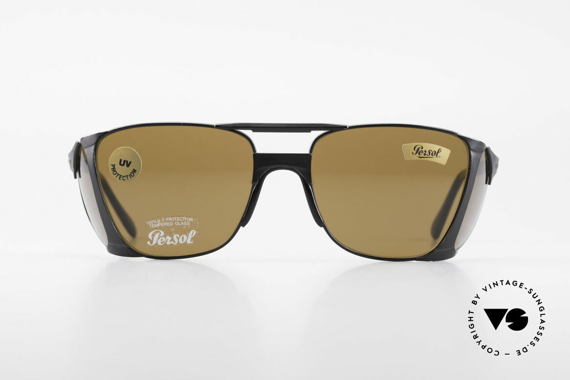 "Persol 009 Ratti VIP Vintage 4lenses Nasa Shades, spectacular ""4lens design"" for optimal UV protection, Made for Men"