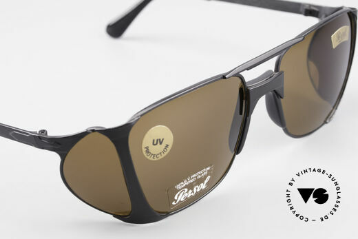 Persol 009 Ratti VIP Vintage 4lenses Nasa Shades, unworn and with scratch-resistant MINERAL LENSES!, Made for Men