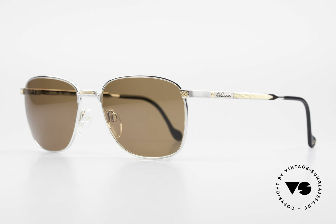 S.T. Dupont D048 Classic Luxury Shades 23kt, top craftsmanship (Dupont frames are 23kt gold-plated), Made for Men