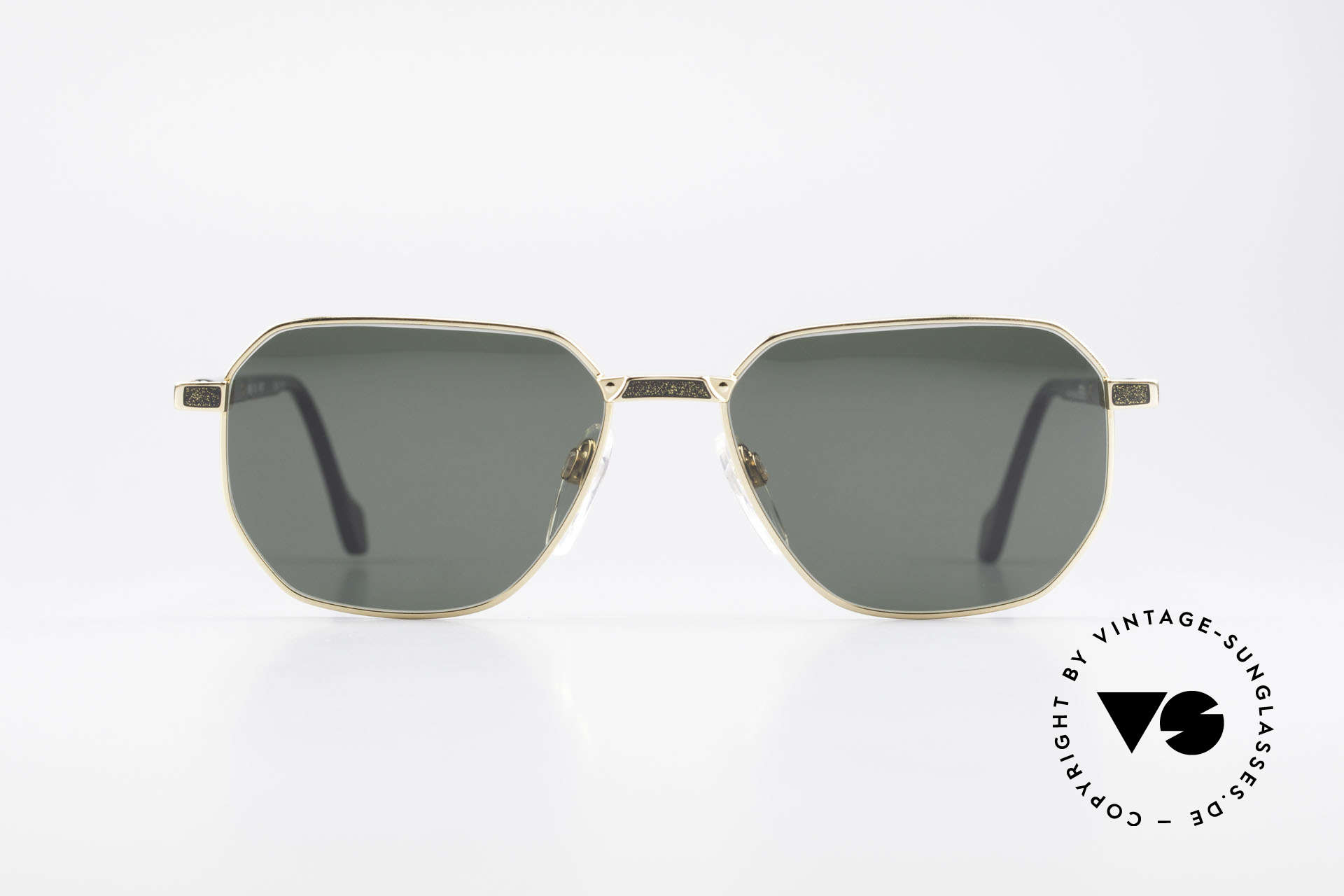 S.T. Dupont D006 Luxury Sunglasses Vintage, top craftsmanship (all Dupont frames are gold-plated), Made for Men