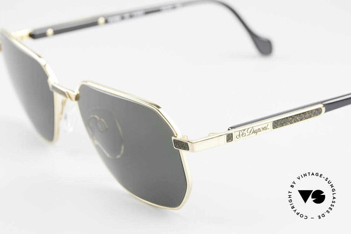S.T. Dupont D006 Luxury Sunglasses Vintage, incl. orig. S.T. Dupont certificate, hard case & packing, Made for Men