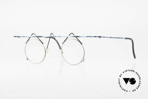 Argenta Crazy 705 Fancy Vintage Eyeglasses Details