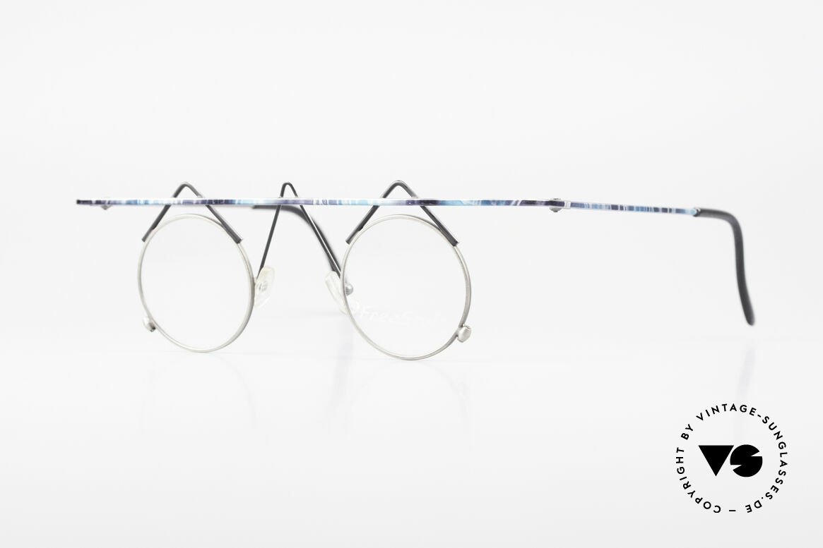Argenta Crazy 705 Fancy Vintage Eyeglasses, rare Argenta CRAZY glasses: the name says it all, Made for Women