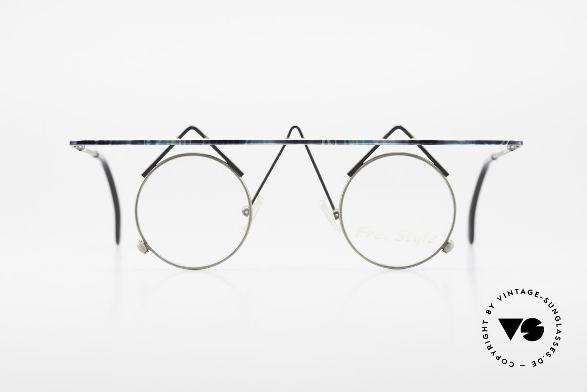 Argenta Crazy 705 Fancy Vintage Eyeglasses, artistic frame: 'opposite pole' to the 'mainstream', Made for Women