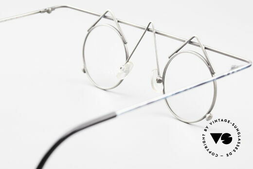 Argenta Crazy 705 Fancy Vintage Eyeglasses, demo lenses should be replaced with prescriptions, Made for Women