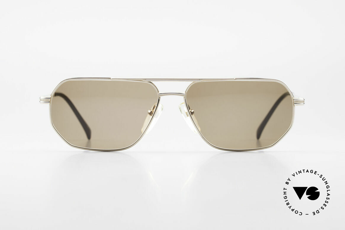 Zollitsch Cadre 200 Vintage Titan Sunglasses, vintage Zollitsch designer sunglasses from the 1990's, Made for Men