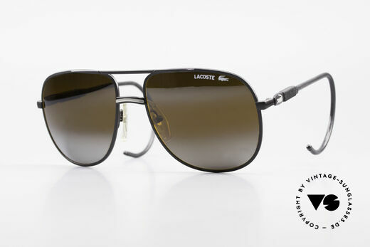 Lacoste 101S Sporty Aviator Sunglasses XL Details