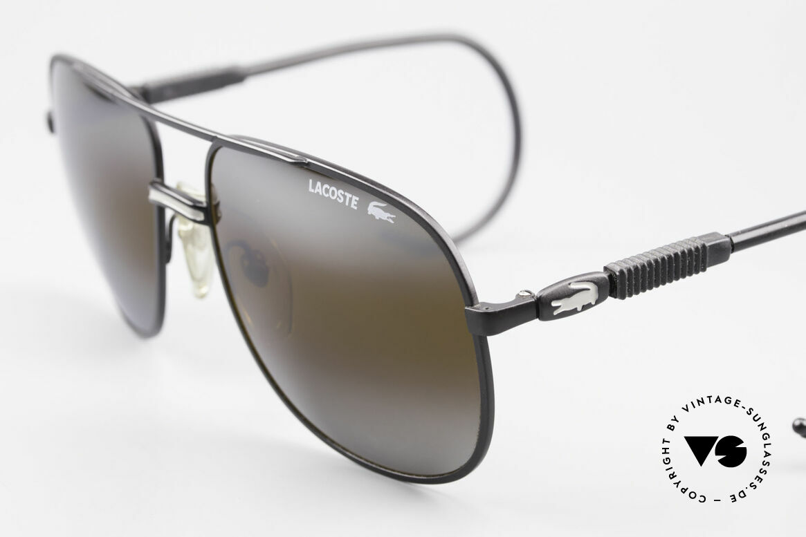 Lacoste 101S Sporty Aviator Sunglasses XL, model 101 = the downright classic by Lacoste, a legend!, Made for Men