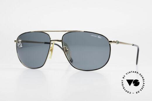 Lacoste 121 Large Sports Sunglasses Men Details