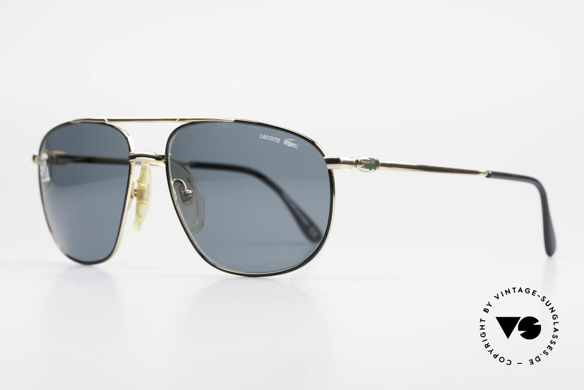 Lacoste 121 Large Sports Sunglasses Men, solidly built frame and very pleasant to wear!, Made for Men