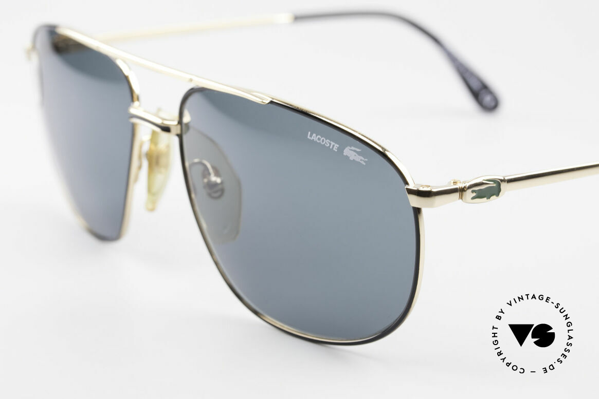Lacoste 121 Large Sports Sunglasses Men, with Lacoste sun lenses for 100% UV protection, Made for Men