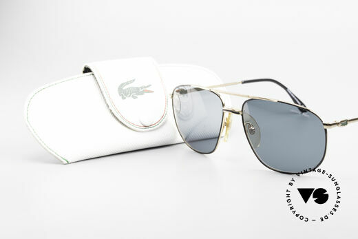 Lacoste 121 Large Sports Sunglasses Men, NO RETRO SHADES, but a 20 years old Original!, Made for Men