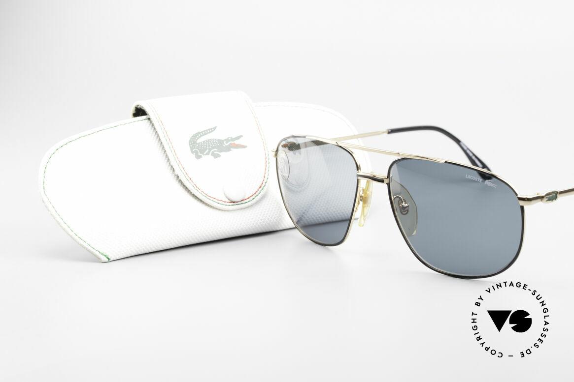 Lacoste 121 Large Sports Sunglasses Men
