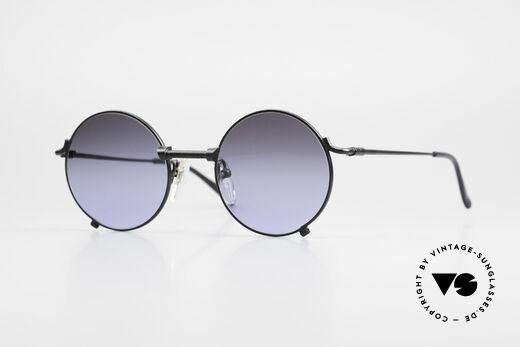 Jean Paul Gaultier 55-7162 Round Vintage Sunglasses Details