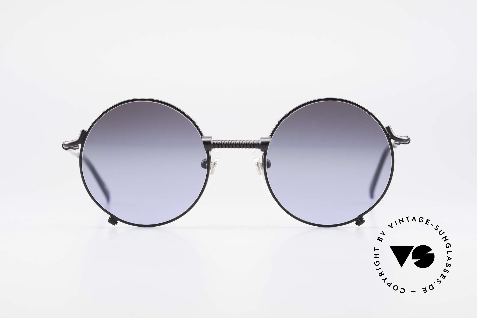 55 Jean Round Sunglasses Gaultier Vintage Paul 7162 vnmNOyw80P