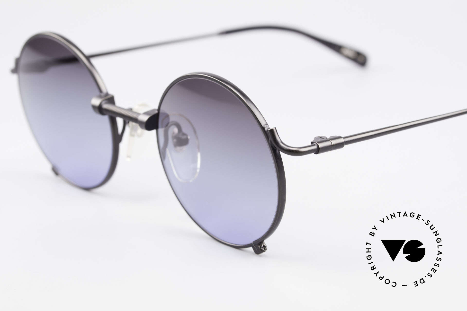 Jean Paul Gaultier 55-7162 Round Vintage Sunglasses, new old stock (like all our vintage JPG shades), Made for Men and Women