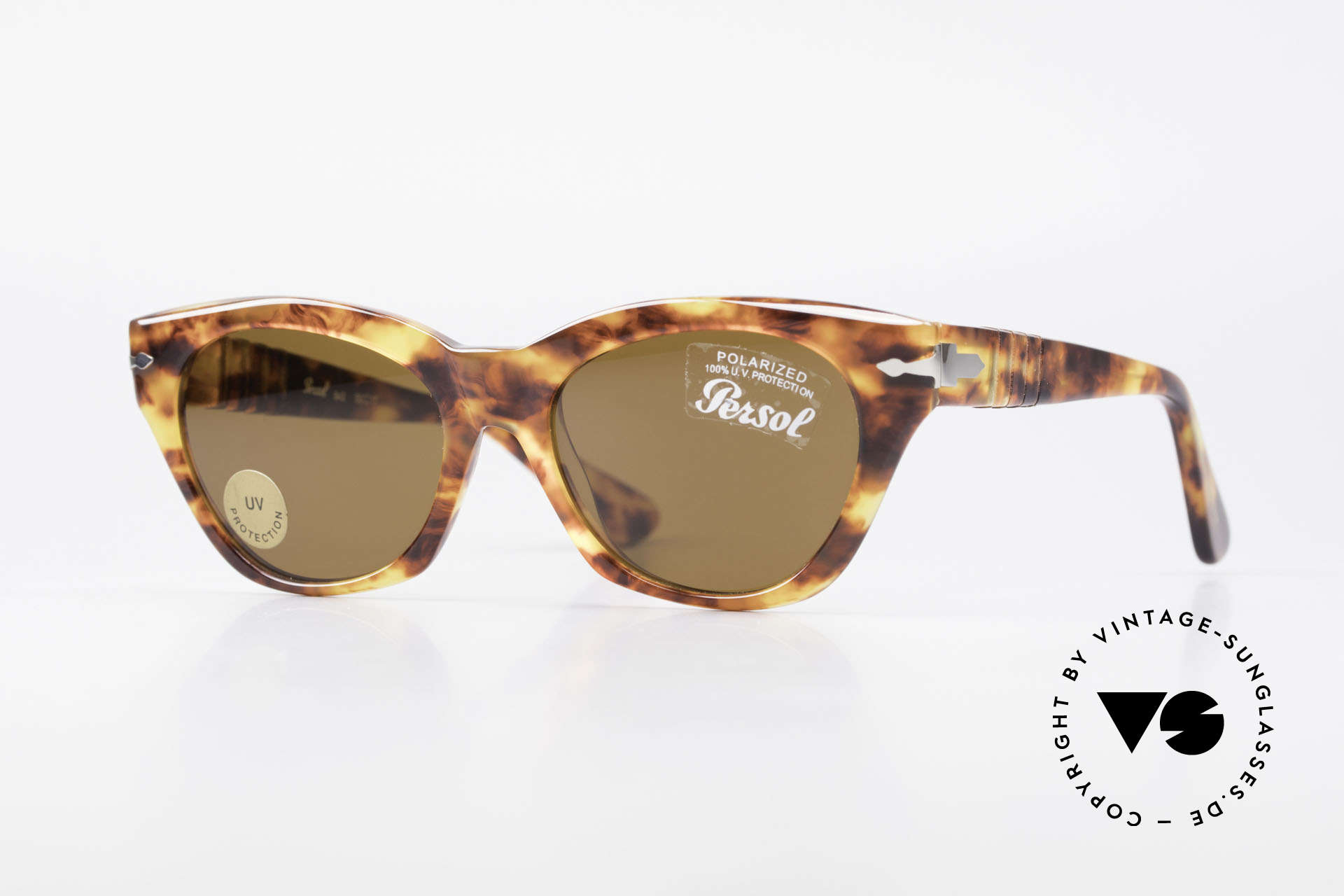 Persol 842 Ratti Classic Ladies Sunglasses, elegant vintage shades of the 90's by Persol, Made for Women