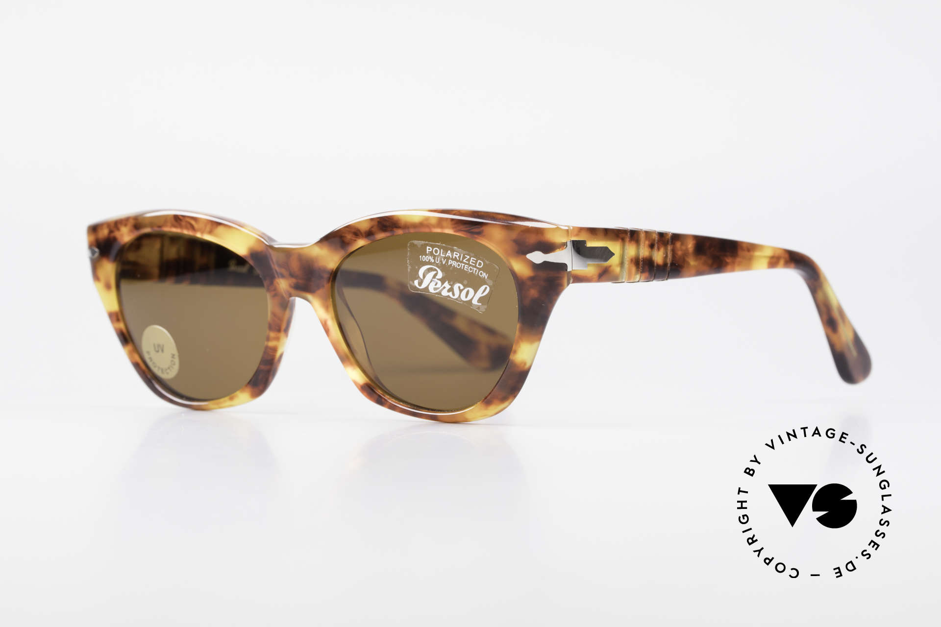 Persol 842 Ratti Classic Ladies Sunglasses, Persol mineral lenses for 100% UV protection, Made for Women