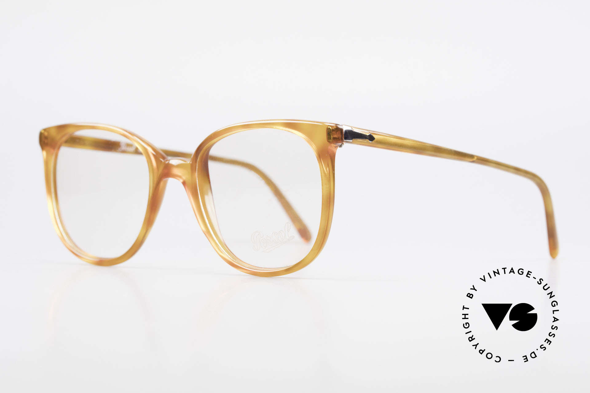 Persol 09181 Ratti Old Vintage Eyeglasses 80's, rarity from the old RATTI manufacture in Torino, Made for Men and Women