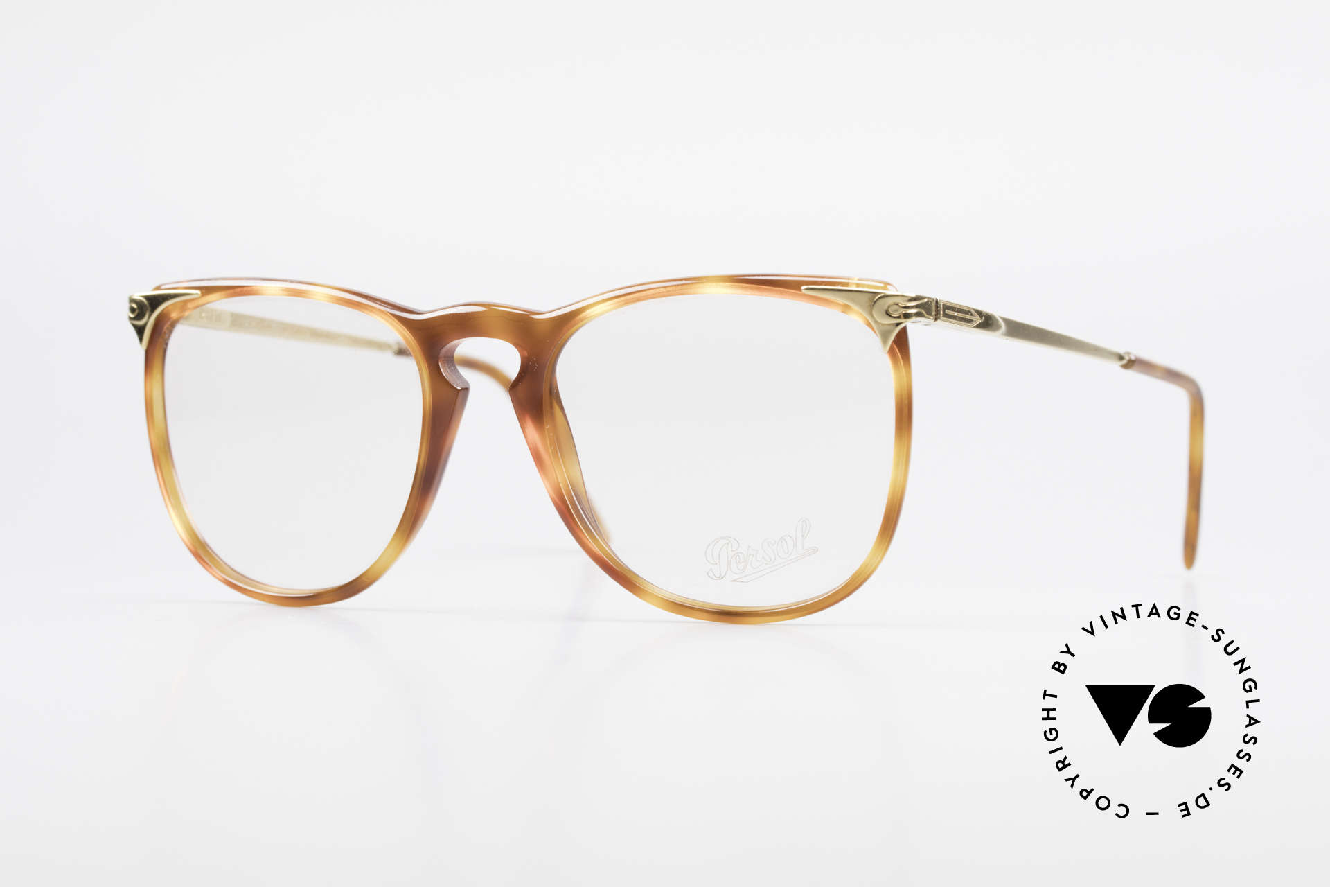 Persol Cellor 3 Ratti Old Vintage Eyeglasses 80's, vintage eyewear by Persol Ratti of the 1980's, Made for Men and Women