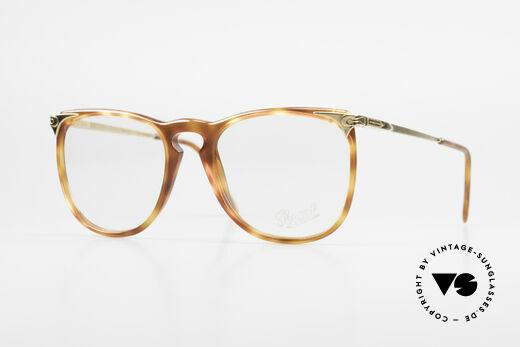 Persol Cellor 3 Ratti Old Vintage Eyeglasses 80's Details