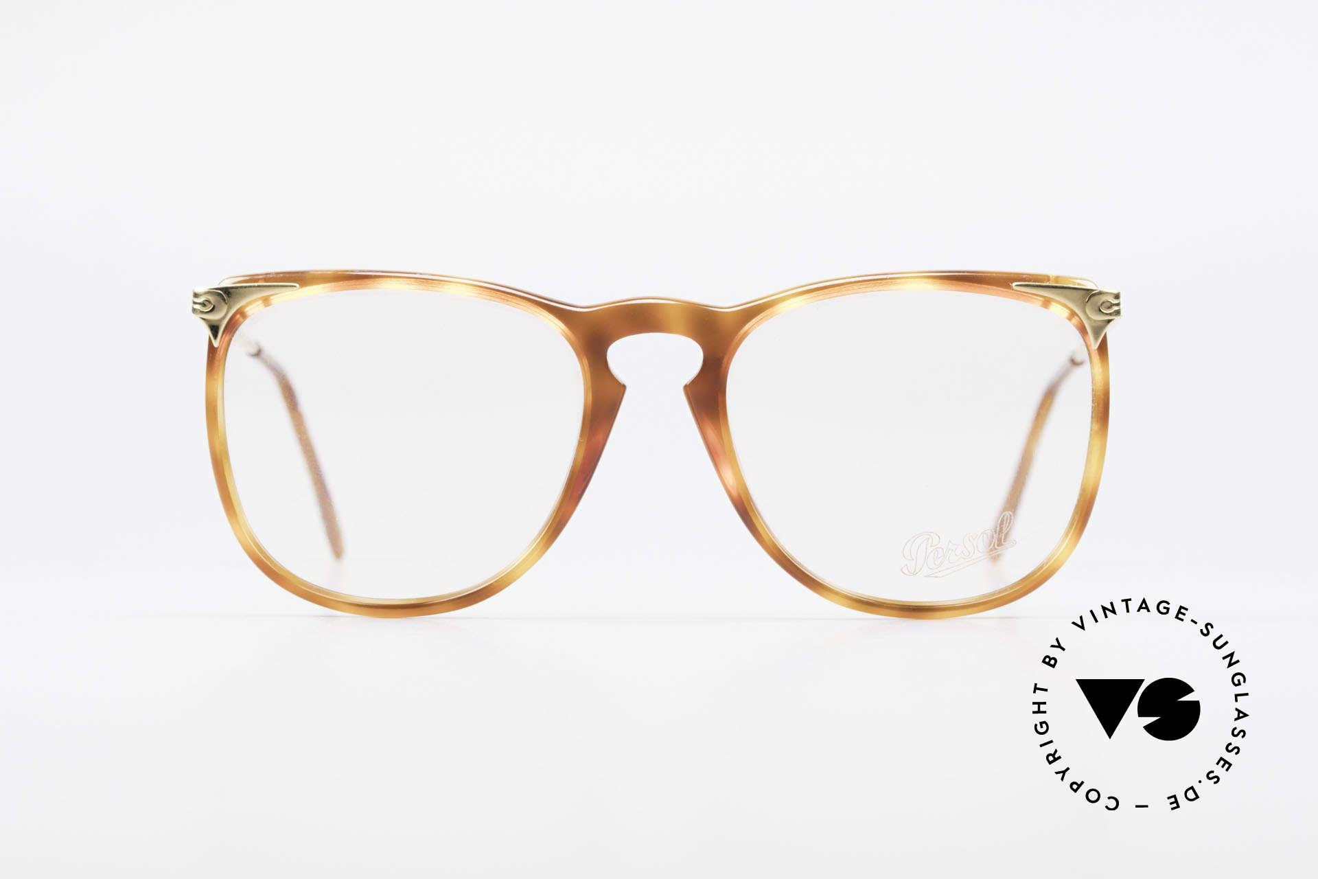 Persol Cellor 3 Ratti Old Vintage Eyeglasses 80's, high-quality spring temples (for a perfect fit), Made for Men and Women