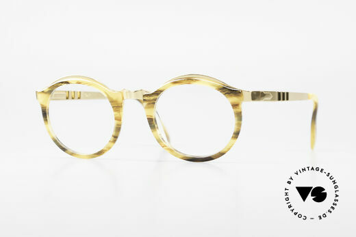 Persol Ivy Gold Plated Panto Glasses Details
