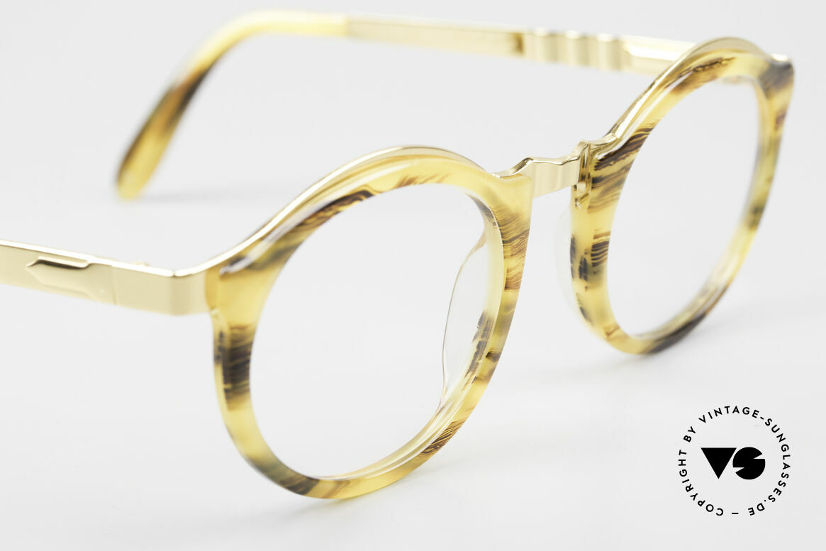 Persol Ivy Gold Plated Panto Glasses, never worn (like all our vintage Persol eyewear), Made for Men and Women