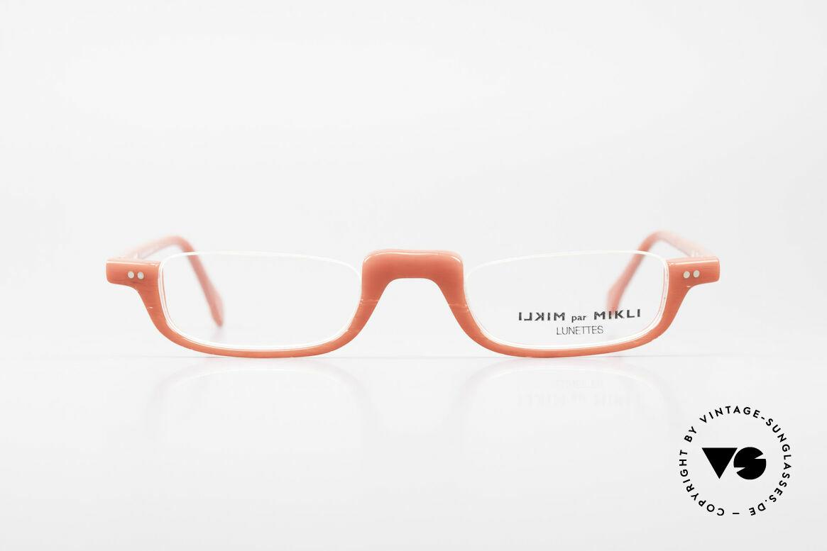 Alain Mikli 6071 / 2081 Vintage Reading Eyeglasses, terrific frame pattern: slightly translucent & RED!, Made for Women