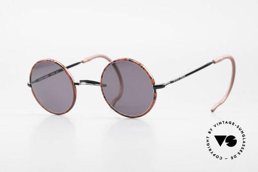 Giorgio Armani 103 Round 80's Sports Sunglasses Details